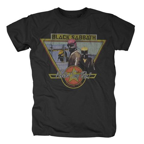 Never Say Die Vintage von Black Sabbath - T-Shirt jetzt im Black Sabbath Shop