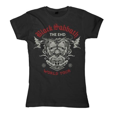 The End Scripture von Black Sabbath - Girlie Shirt jetzt im Black Sabbath Shop